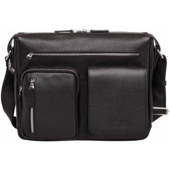 Деловая сумка через плечо Lakestone Clapton black