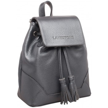 Женский рюкзак Lakestone Clare silver grey