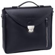 Кожаный портфель Lakestone Clifton black