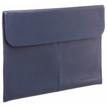 Кожаная папка Lakestone Crosby dark blue