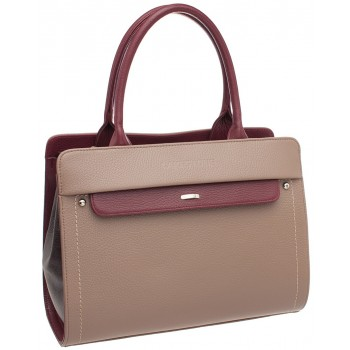 Женская кожаная сумка Lakestone Darnley taupe