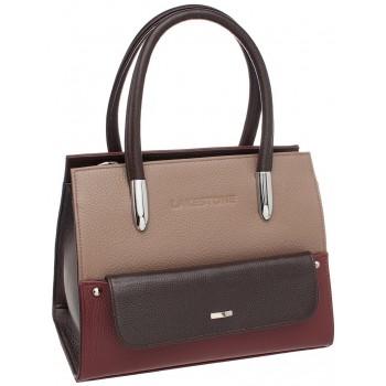 Женская кожаная сумка Lakestone Davey taupe