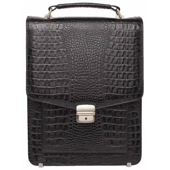 Вертикальный портфель Lakestone Dormer caiman black