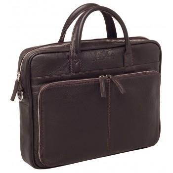 Деловая сумка Lakestone Elberton brown