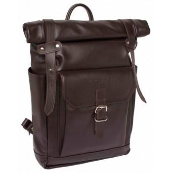Кожаный рюкзак Lakestone Eliot brown