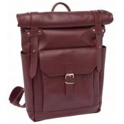 Кожаный рюкзак Lakestone Eliot burgundy