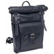 Кожаный рюкзак Lakestone Eliot dark blue