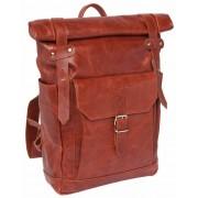 Кожаный рюкзак Lakestone Eliot redwood