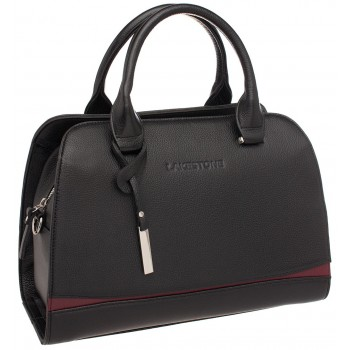 Женская кожаная сумка Lakestone Emra black