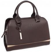 Женская кожаная сумка Lakestone Emra brown