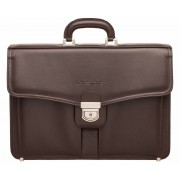 Кожаный портфель Lakestone Farington brown