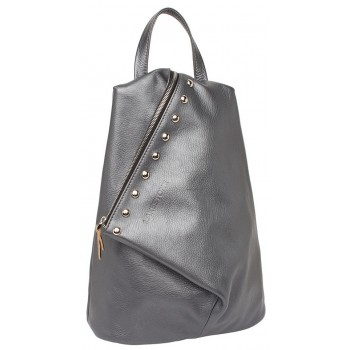 Женский рюкзак Lakestone Florence silver grey