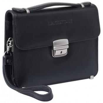 Кожаная барсетка Lakestone Foxcote black