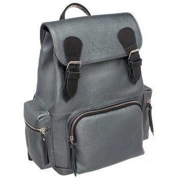 Женский рюкзак Lakestone Garrett silver grey