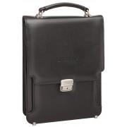 Вертикальный портфель Lakestone Gilbert black