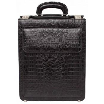 Вертикальный портфель Lakestone Grantson caiman black