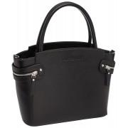 Женская кожаная сумка Lakestone Hacket black