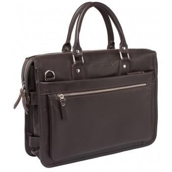 Деловая сумка Lakestone Halston brown
