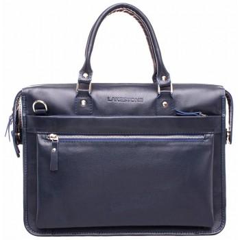 Деловая сумка Lakestone Halston dark blue