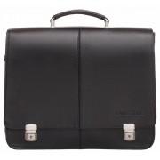Кожаный портфель Lakestone Howard black