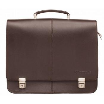 Кожаный портфель Lakestone Howard brown