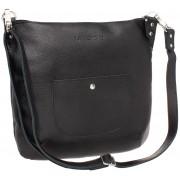 Женская кожаная сумка Lakestone Kelbra black