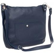 Женская кожаная сумка Lakestone Kelbra dark blue