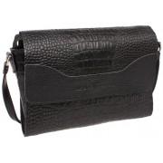Женская кожаная сумка Lakestone Kidney black