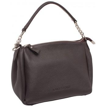 Женская кожаная сумка Lakestone Lacey brown