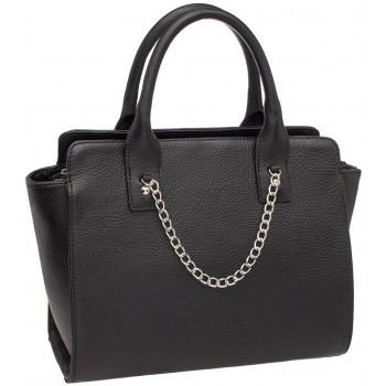 Женская кожаная сумка Lakestone Leda black