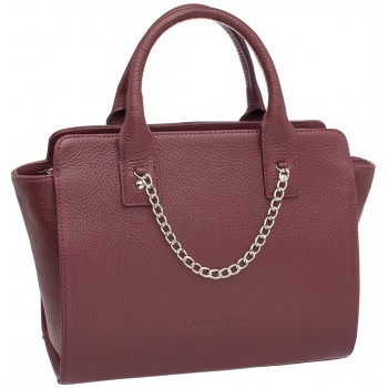 Женская кожаная сумка Lakestone Leda burgundy