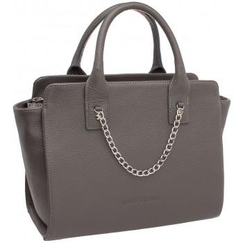 Женская кожаная сумка Lakestone Leda grey