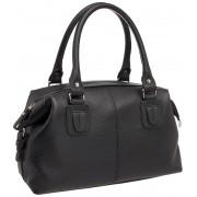 Женская кожаная сумка Lakestone Marsh black