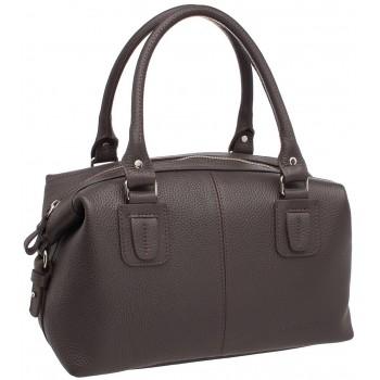 Женская кожаная сумка Lakestone Marsh brown