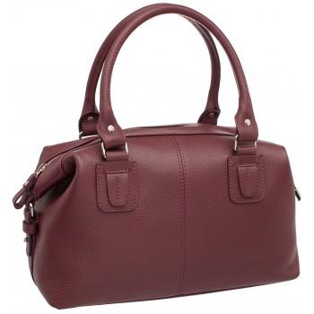 Женская кожаная сумка Lakestone Marsh burgundy
