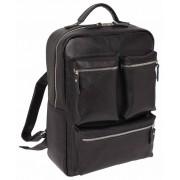 Кожаный рюкзак Lakestone Norley black