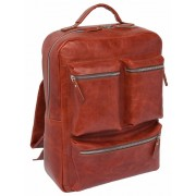 Кожаный рюкзак Lakestone Norley redwood