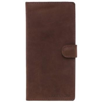 Кожаный клатч Lakestone Oram brown