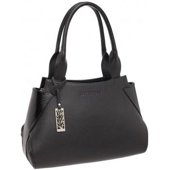 Женская кожаная сумка Lakestone Osprey black