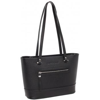 Женская кожаная сумка Lakestone Page black