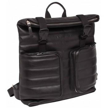 Кожаный рюкзак Lakestone Parson black