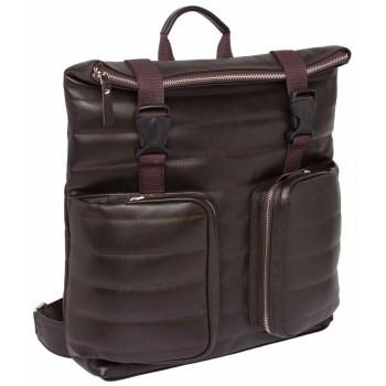 Кожаный рюкзак Lakestone Parson brown