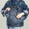 Кожаный рюкзак Lakestone Parson dark blue
