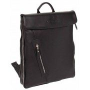 Кожаный рюкзак Lakestone Ramsey black
