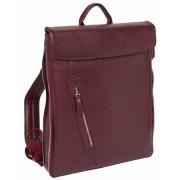 Кожаный рюкзак Lakestone Ramsey burgundy