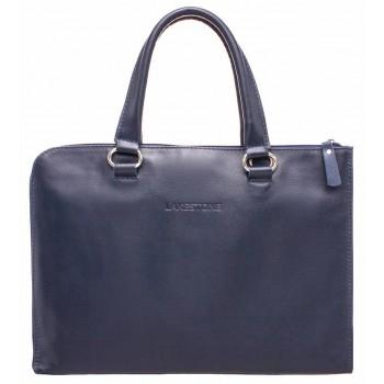 Деловая сумка-папка Lakestone Randall dark blue