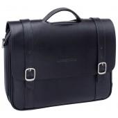 Кожаный портфель Lakestone Redcliff black