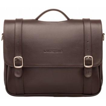 Кожаный портфель Lakestone Redcliff brown