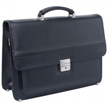 Кожаный портфель Lakestone Reedley black