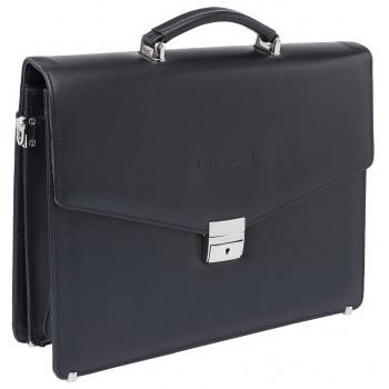 Кожаный портфель Lakestone Richeson black